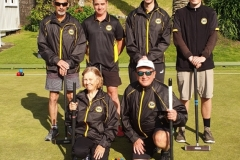 Wellington  Municipal Croquet Club Team  (Runner Ups)