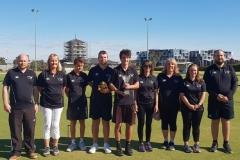 2019 Golf Croquet Trans-Tasman winning New Zealand Team