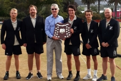 New Zealand's World Champion Golf Croquet Team (with  David Openshaw)