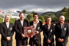 New Zealand's World Champion Golf Croquet Team