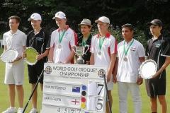 U21 World Golf Croquet Championship - Nottingham, England 20th-24th July 2019